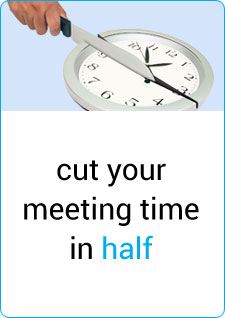 cut your meeting time in half